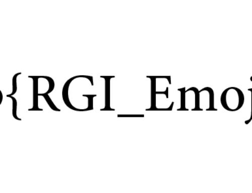 Unicode Regular Expressions v21 Released